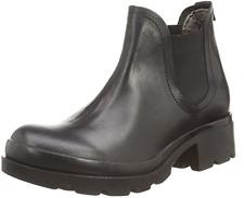 Genuine Fly London Mena Rug Boot, Women's Chelsea Boots Black Size UK 8