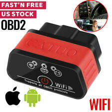WIFI OBD2 Scanner Code Reader Automotive Diagnostic Tool Car OBDII ELM327 BT