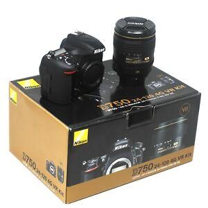 Nikon D750 Camera + 24-120mm Lens - UK NEXT DAY DELIVERY