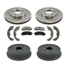 New Front Brake Rotors Brake Pads & Rear Drums Brake Shoes Equinox Torrent & Vue