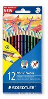 12 x Staedtler WOPEX Noris matite colorate - Colori Assortiti, forma esagonale