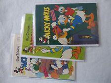 Micky Maus Jahrgang 1961 Nummer 7,21,22