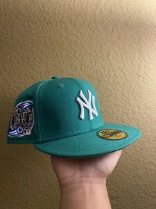 """Hat Club My Fitteds New Era New York Yankees """"Lucky Green"""" MLB Size 7 1/2"""