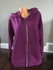 Victoria's Secret!!! ZIP PINK Hoodie Sweatshirt SIZE:X-LARGE