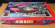 SLOT CAR SET - SUPER SPEED,  DOUBLE TROUBLE RACERS CORVETTE CAMERO BY KWONG WAH