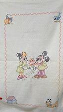 Paragon needlecraft vintage kit quilt Walt Disney Mickey and Minnie Mouse Pluto