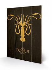 Game of Thrones Holzdruck Greyjoy 40 x 60 cm NEU & OVP