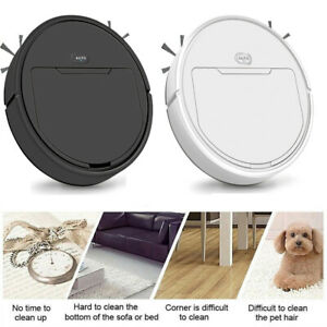 Automatic Clean Robot Vacuum Cleaner Floor Cleaning Strong Suction Sweeper Home