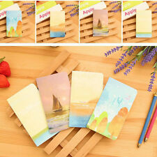 6pcs New Mini Journal Diary Notebook With Lined Paper Vintage Retro Notepad gift