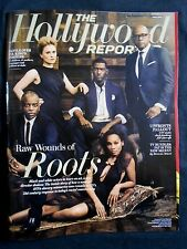 THE HOLLYWOOD REPORTER MAGAZINE RAW WOUNDS OF ROOTS ANNA PAQUIN FOREST WHITTAKER