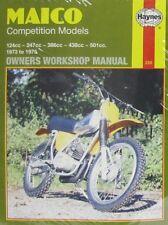Haynes Manual 0220 - Maico Competition Models 124/247/386/438/501cc (73 - 75)