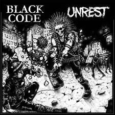 UNREST/ BLACK CODE split LP NEW disfear, skitsystem