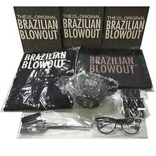Brazilian Blowout Original Solution Styling Kit Treatment Kit Apron Bowls Clips