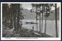 Schöne Ansichtskarte Achensee Blick auf die Landungsbrücke in Seespitz - 00529