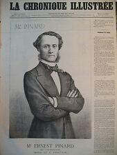 MAITRE E. PINARD AVOCAT A LA COUR IMPERIALE DE PARIS LA CHRONIQUE ILLUSTRéE 1869