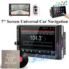 "Android 8.1 HD 7"" GPS Navigation In-Dash Stereo Radio BT Car CD DVD MP5 Player"