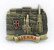 "3D Metal Fridge Magnet ""Vienna Landmark Austria"" Souvenir Gift New Good Quality"