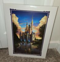 Disney Parks Magical Reflection Greg McCullough Print Cinderella Castle Epcot