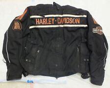 Harley Davidson Riding Gear Genuine RN103819 CA03402 Leather Trim Size: XL