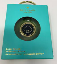 Kate Spade New York Universal Stability Ring Gold / Black New Open Box