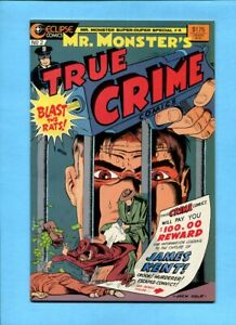 Mr. Monster's True Crime Comics #2 Eclipse Comics 1986 Jack Cole Reprint