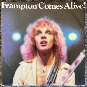 Frampton Comes Alive - Peter Frampton - Original Vinyl Double Album Records 1976