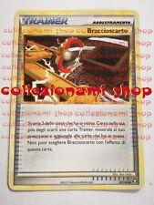 BRACCIOSCARTO - NON COMUNE 87/102 - POKEMON - ITALIANO