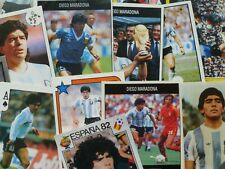 Diego Maradona Football Stickers - Panini/FKS/Dandy/Orbis/Daily Mirror