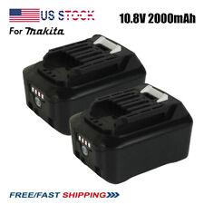 2X 10.8V 2000 mAh LI Battery for Makita BL1040 BL1021 BL1016 1015 1041 B DF031D