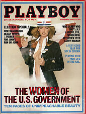 PLAYBOY November 1980-US Govt Women Pictorial-Click & see index-304 Pgs-Free S&H