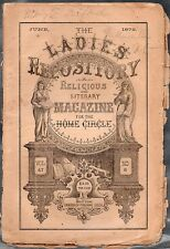 The Ladies Repository - June 1872 Religious & Literary Magazine