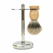 Shaving Set Badger Hair Brush Shaving And Razor Holder Stand