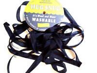 Black Seam Binding x 100 Yards, Rayon, Hug Snug, Black Ribbon, Full Bolt