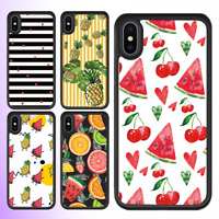 iPhone 11 Pro Max SE 2020 XS X 8 7 Plus Case Cute Fruit Bumper Shockproof Cover