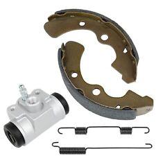 Caltric 2 Rear Brake Shoes Cylinder for Kawasaki Mule 2510 Kaf950A Kaf950 A Diesel 2000-2001