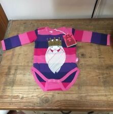 Stunning Striped Viking Princess Babygrow by Danefae - Sizes from 3-12 Months