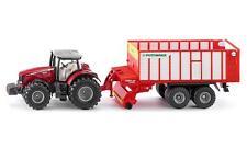 Massey Ferguson tractor con Pöttinger jumbo, siku Farmer 1:87 (h0), art.1987