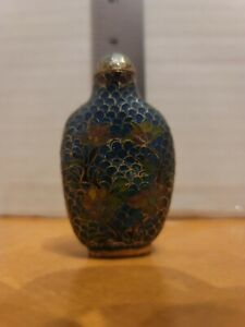 Antique Cloisonne Chinese Snuff Bottle
