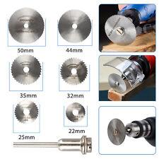 Circular Saw Disc Set Dremel Accessory Mini Drill Rotary Tool Wood Cutting Blade