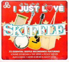 3 CD BOX I JUST LOVE SKIFFLE DONEGAN VIPERS SEEGER LOMAX KORNER CITY RAMBLERS