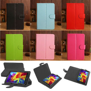 "Universal PU Leather Stand Flip Folio Folding Case Cover For 7"" & 10"" TAB Tablet"