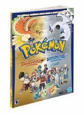 Pokemon HeartGold & SoulSilver: The Official Pokemon Johto Guide &-ExLibrary