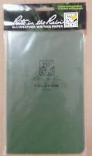 Rite in the Rain field green 980 Field Flex Cover All Weather ROTC Army Forestry