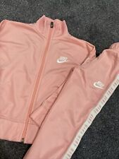 Nike Girls Pink Tracksuit 4-5 Years (wore Once)