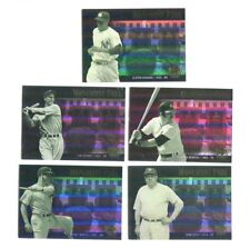 2000 Upper Deck Yankees Legends Monument Park Lot Mantle Ruth Gehrig... Baseball