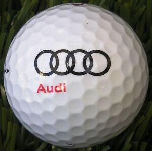 (36) 3 Dozen Callaway Mix AAAAA Mint (AUDI AUTOMOBILE LOGO) Used Golf Balls