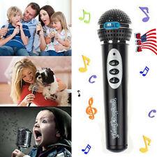 Toddler Girls Boys Microphone Mic Karaoke Singing Kid Funny Gift Music Toy BK US
