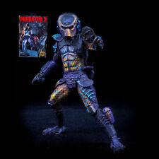 "8"" NECA Predator 2 Ultimate City Hunter Predator (with two heads) Action Figure"