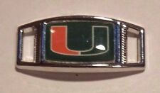 Set Of 2 University Of Miami HURRICANES Shoelace Charms For Paracord Jobs