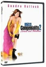 Miss Congeniality 2 DVD 2005 by Sandra Bullock Regina King Marc Lawrence